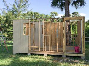 Photo of: Basic walls and sheathing