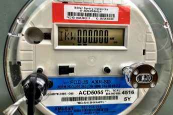 Electric Service Meter