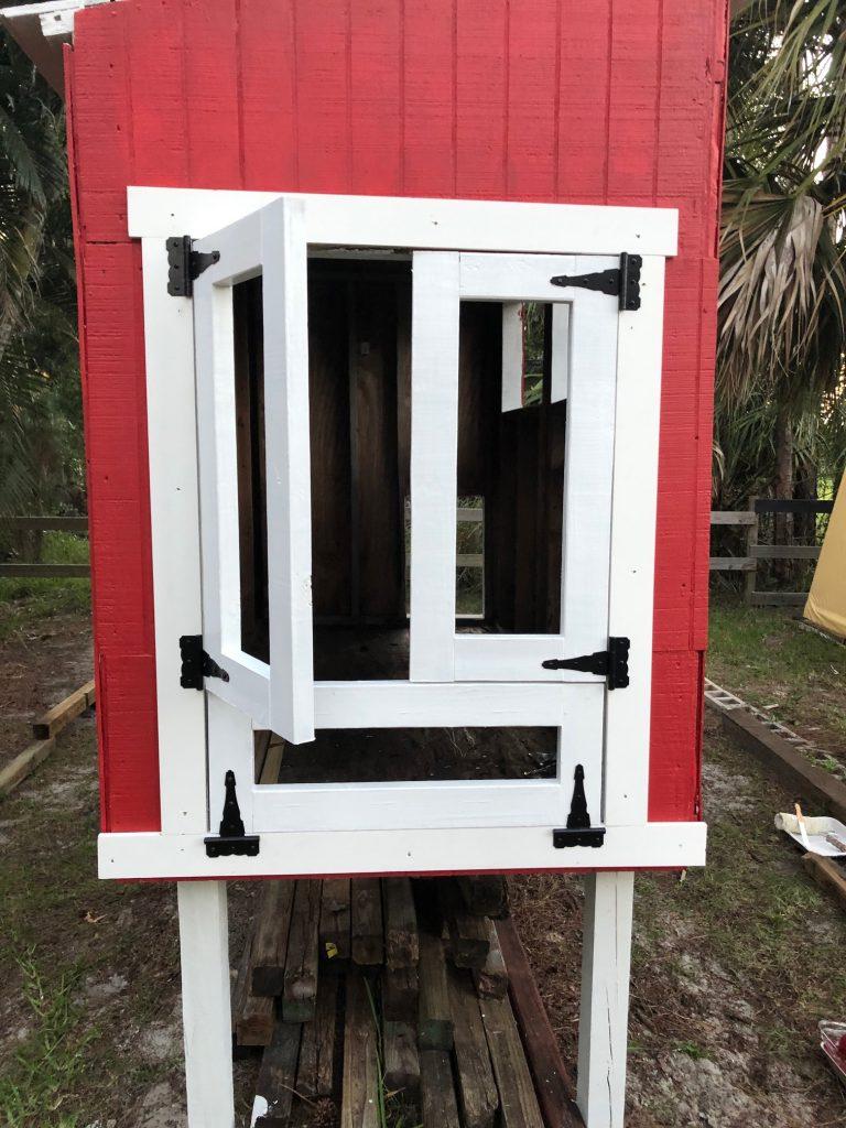 Doors installed